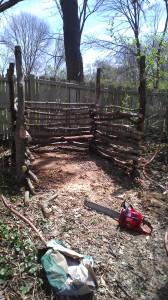 creative compost bin, landscape maintenance