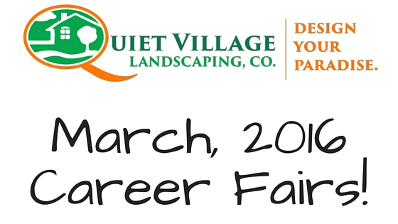 Quiet Village Career Fair