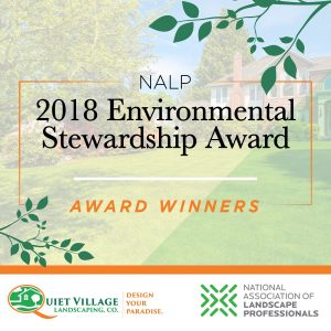 Award Winning Landscaping Environmental Award