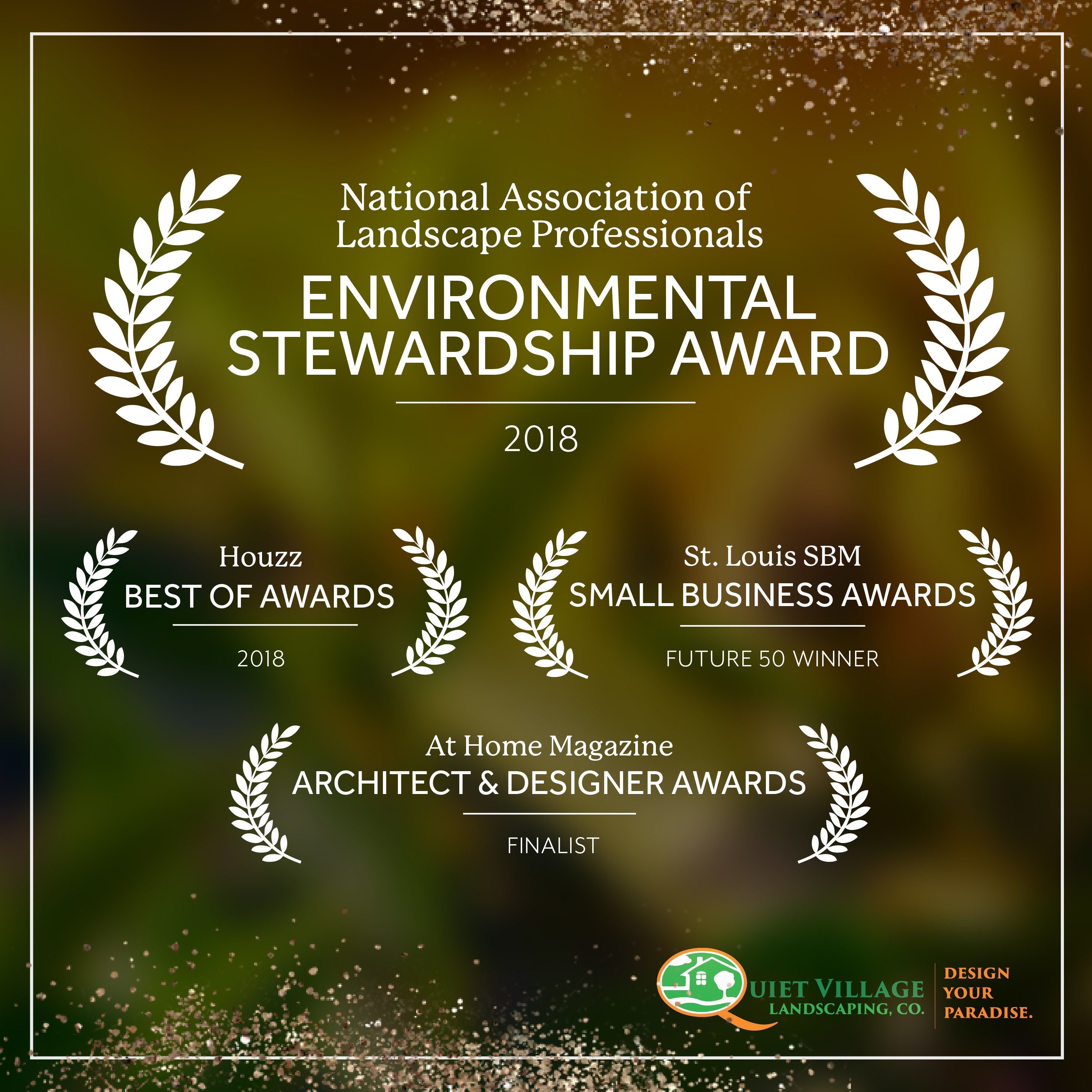 best landscaping company in st. louis - business awards