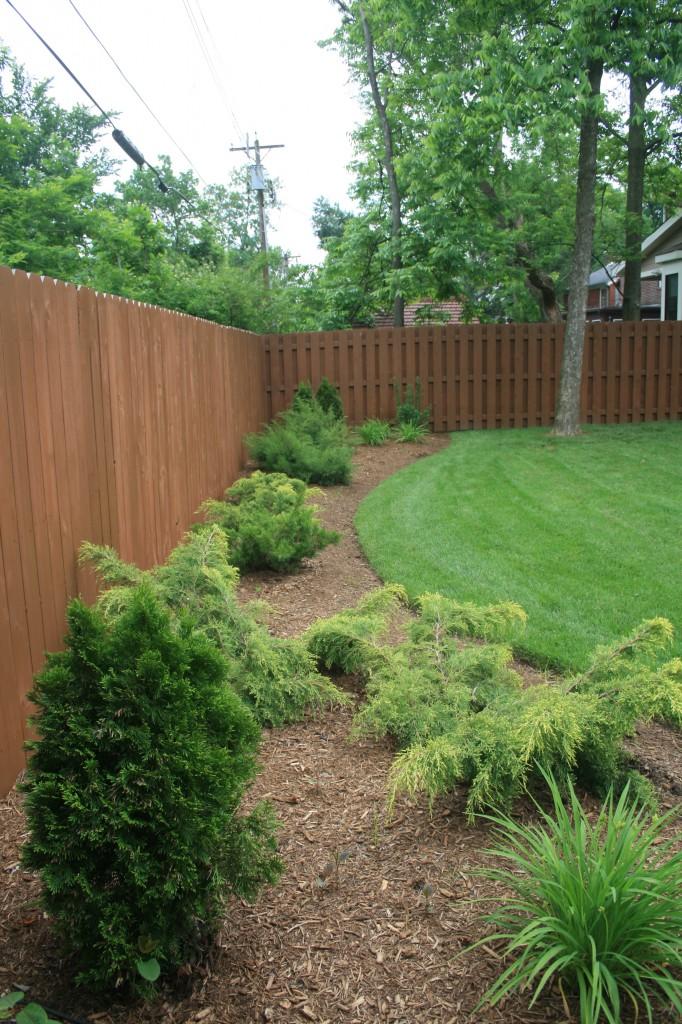 Lawn aeration st louis landscape maintenance st louis for Landscape maintenance