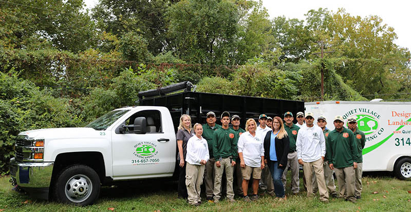 St Louis Landscaping Maintenance Team