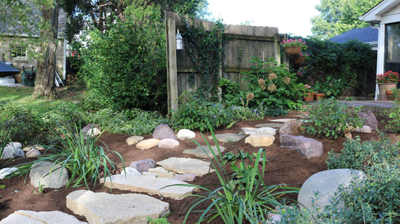Rain gardens st louis landscape design st louis for Landscape design st louis