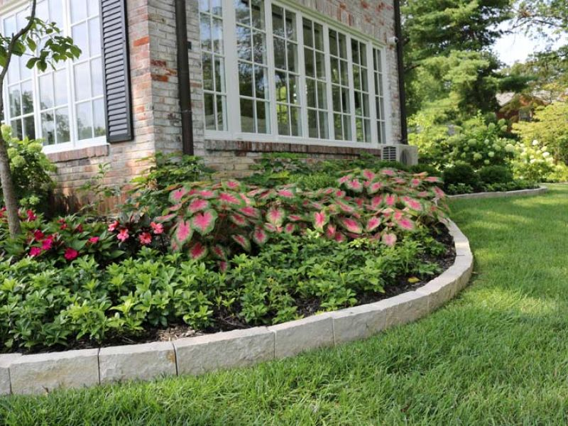Edging And Mulching