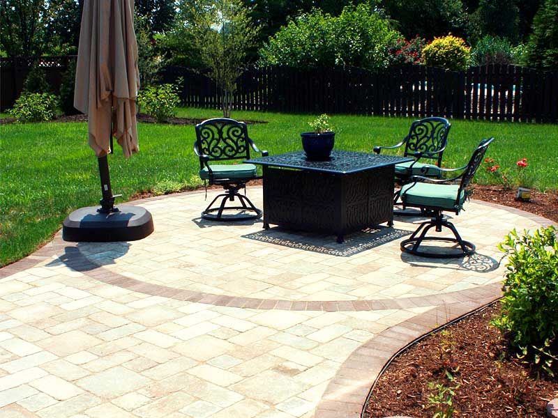Paver Patio 2