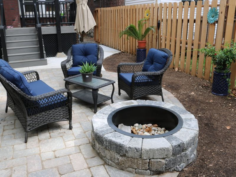 Rsz Fire Pit Installation University City Mo