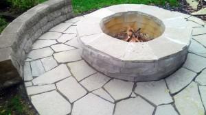 Fire Pit st louis, stone, landscape design element