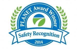 Quiet Village Receives PLANET Safety Award
