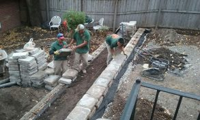 Retaining Wall St. Louis