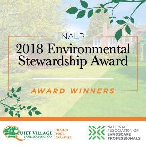 Award Winning Landscaping Environmental Award