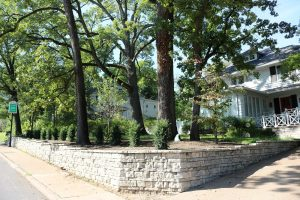 large retaining wall construction in Clayton, MO