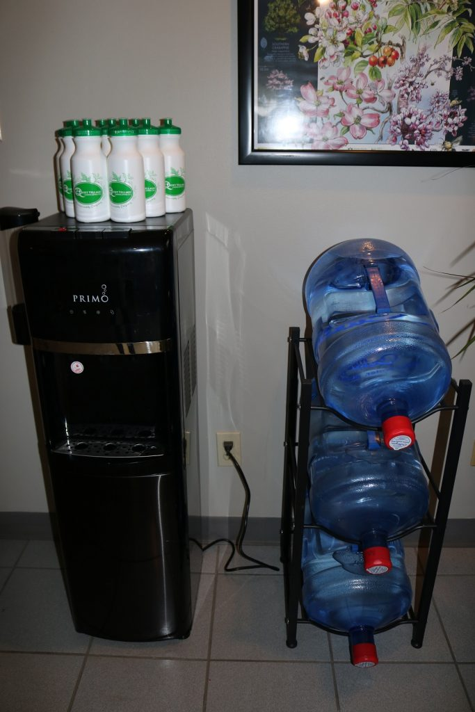 refillable drink station