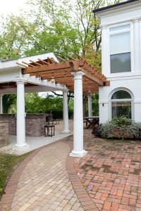 paver walkway patio space in st louis