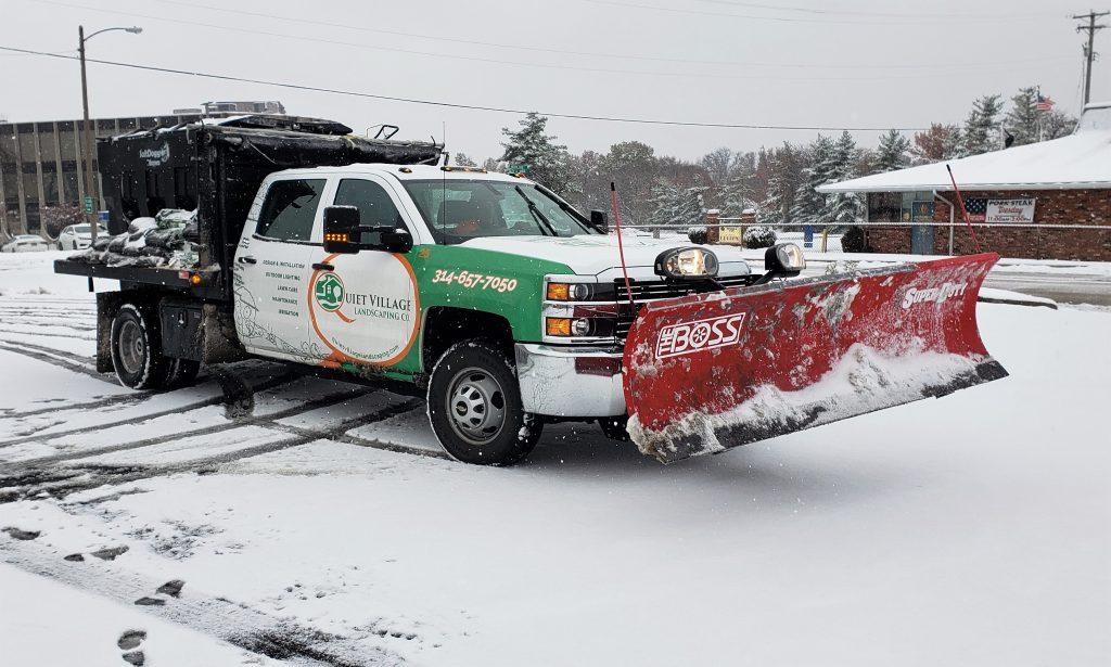 best snow plowing commercial st louis