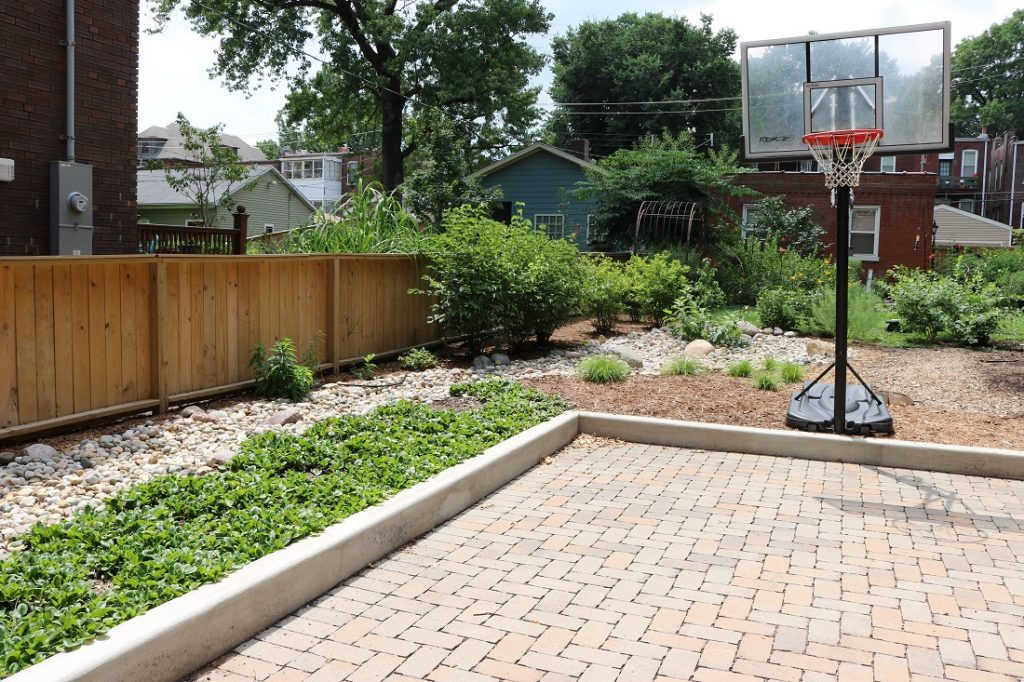 quiet village permeable paver patio builder