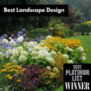 best landscape design award winner in St. Louis