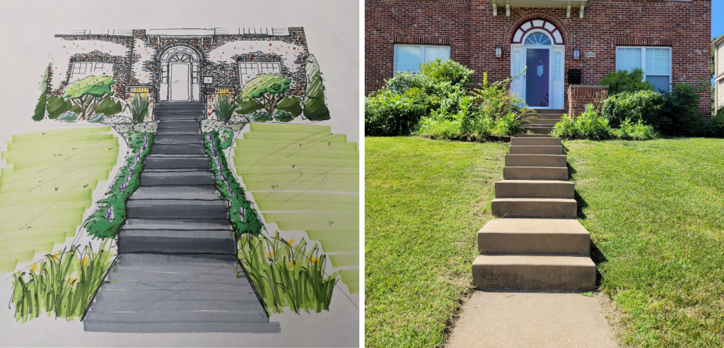 Landscape Design Created by Quiet Village Landscaping in St. Louis