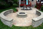 Fire Pit With Patio