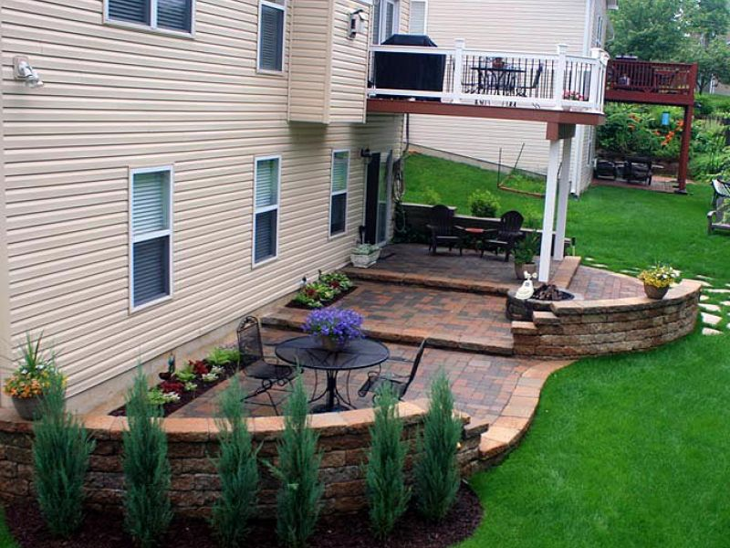 Multi Level Patio