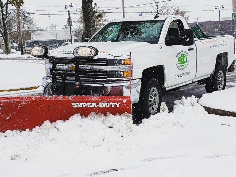 Snow Plowing Creve Coeur